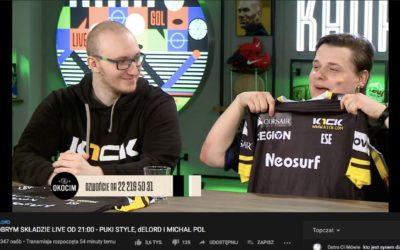 Neosurf celebrates on the back of team K1ck's League of Legends success